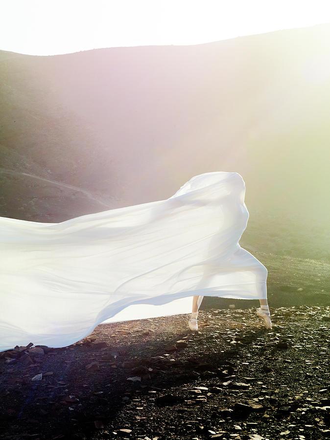 Windy Ballerina Photograph by Henrik Sorensen