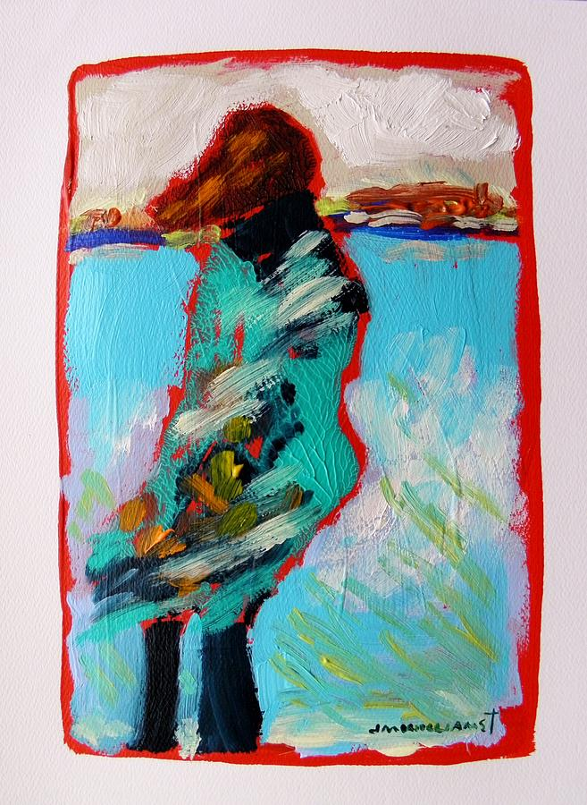 Wind Painting - Windy Morning by John Williams