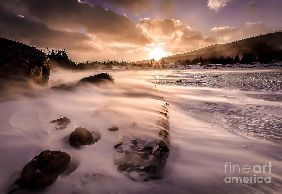 Landscape Photograph - Windy Morning by Steven Reed