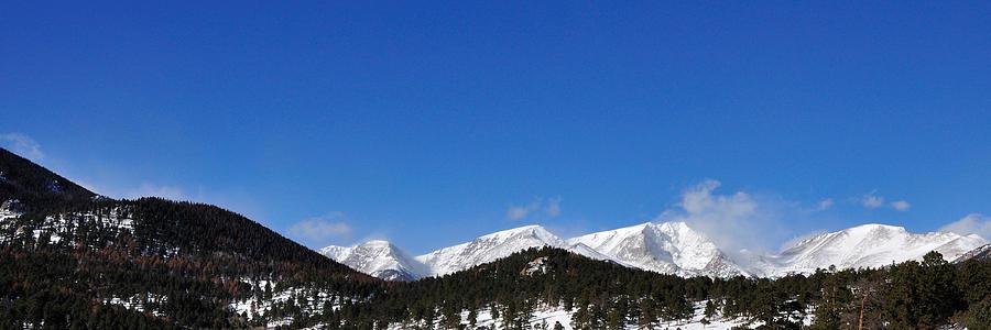 Windy Peaks 4385 Photograph