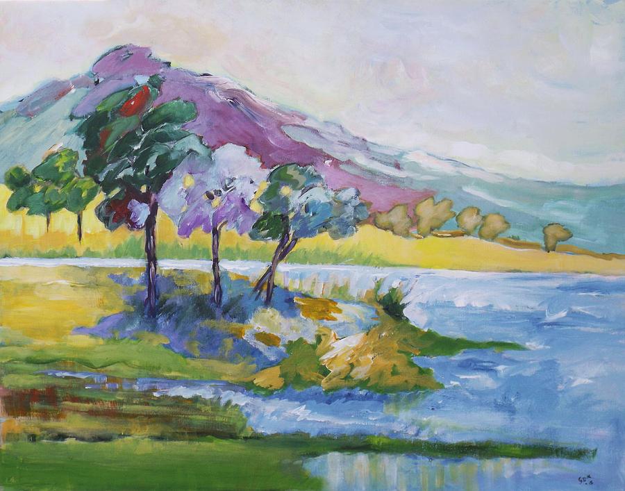 Windy Water by Gloria Dietz-Kiebron