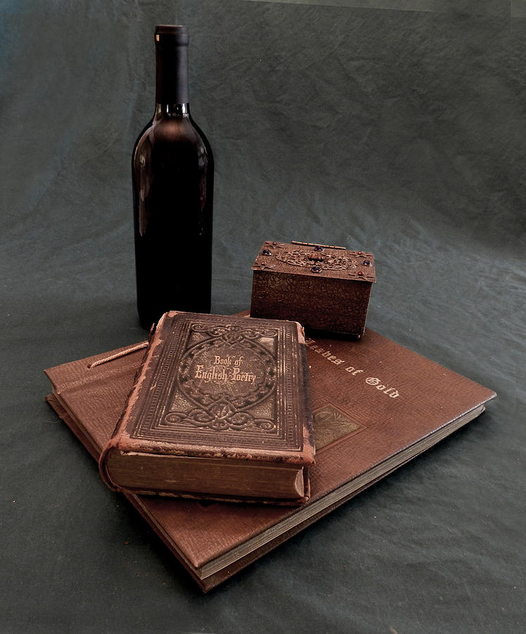 Wine And Poetry Photograph