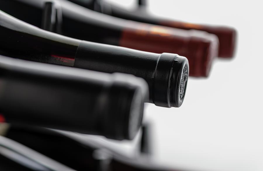 Wine Bottles Photograph by Bdmcintosh