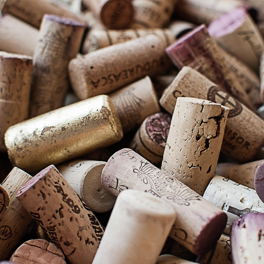 Wine Corks Photograph by Horias Photography