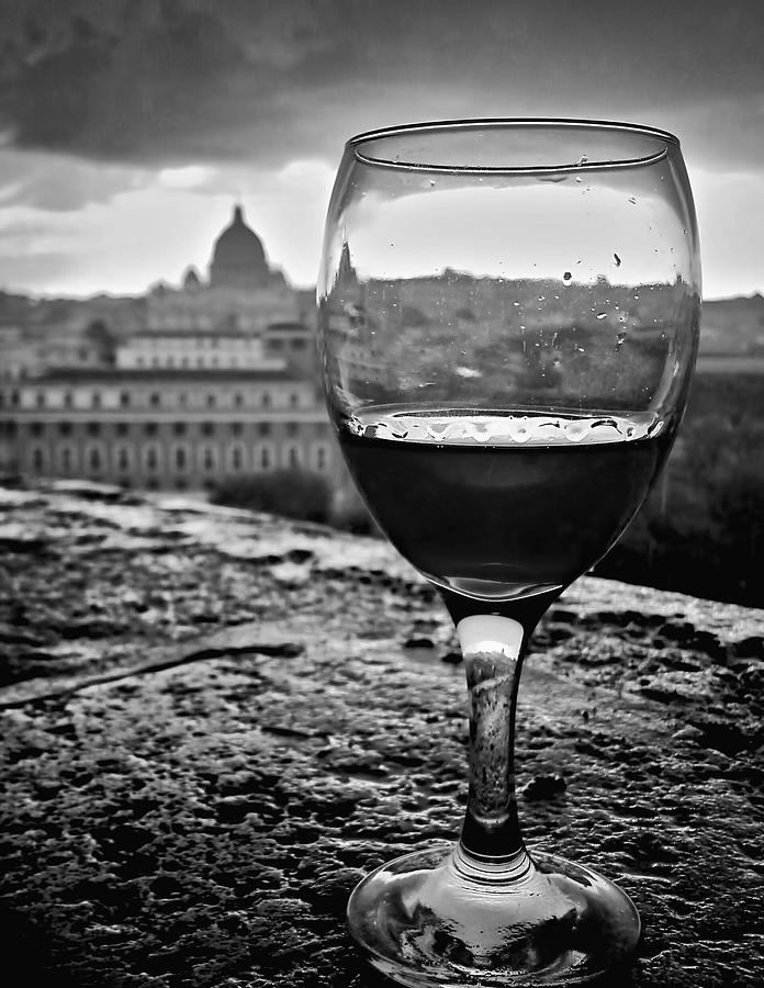 Wine In Rome by Michael Yeager