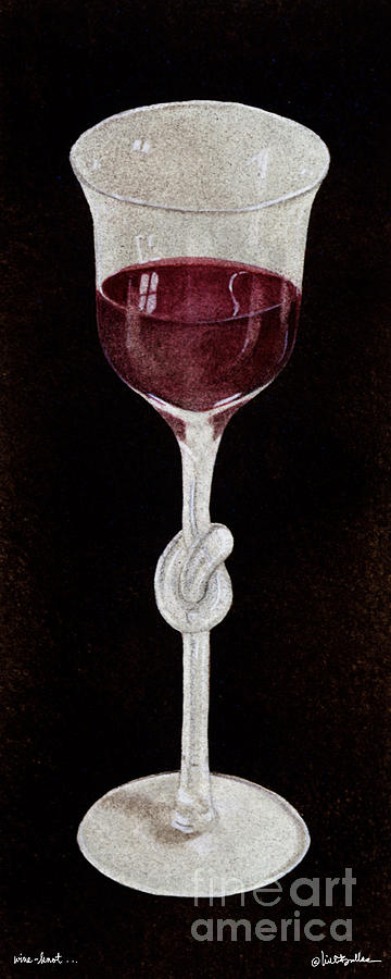 Will Bullas Painting - Wine Knot... by Will Bullas