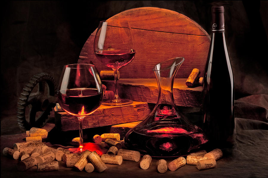 Wine Still Life Photograph