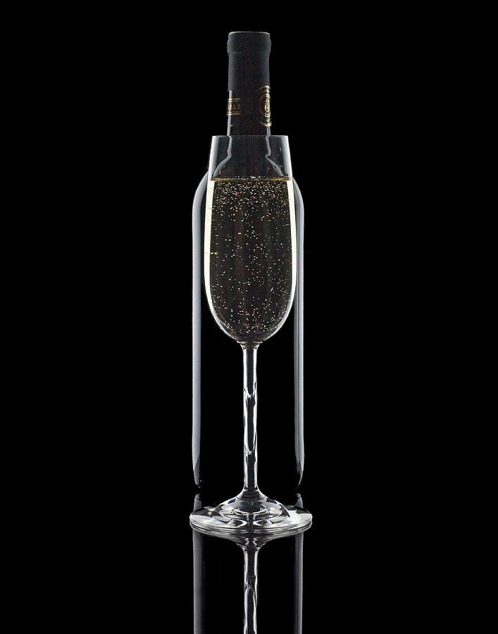 Wine Photograph - Wine by Tom Mc Nemar