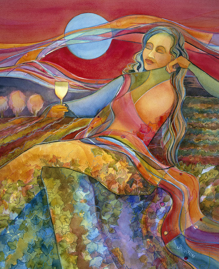 Wine Woman And Song Painting - Wine Woman And Song by Jen Norton