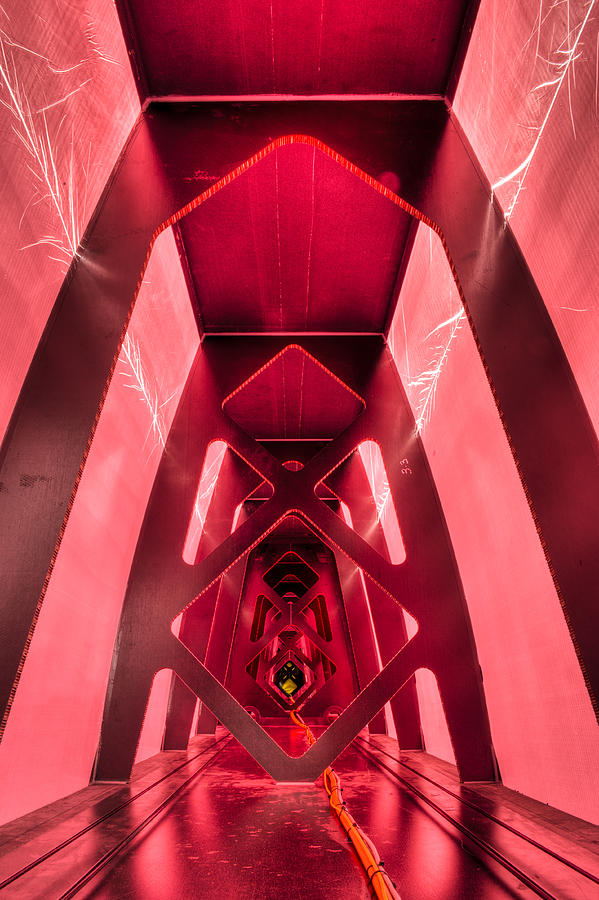 Red Photograph - Wing Cathedral by Chris Cameron