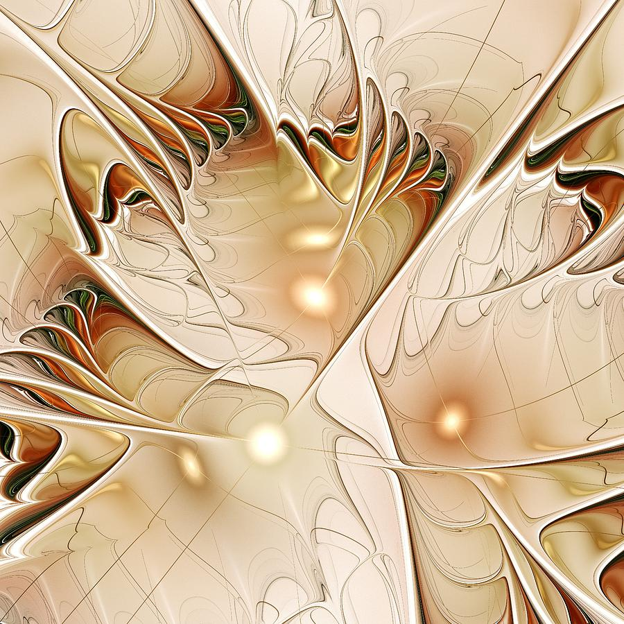 Interior Digital Art - Wings by Anastasiya Malakhova