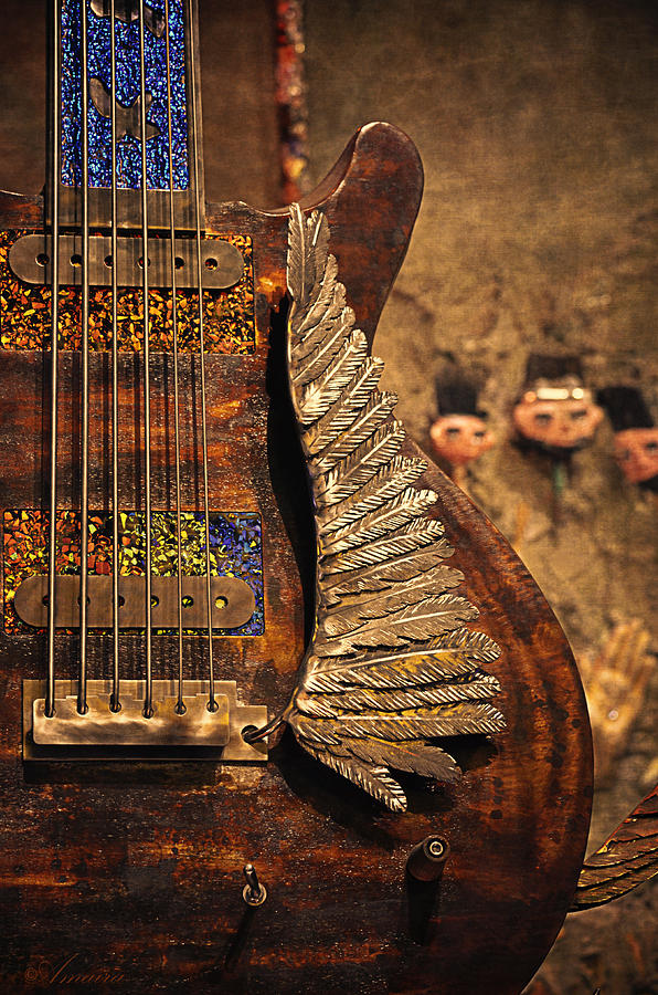 House Of Blues Photograph - Wings Of Legend by Maria Angelica Maira