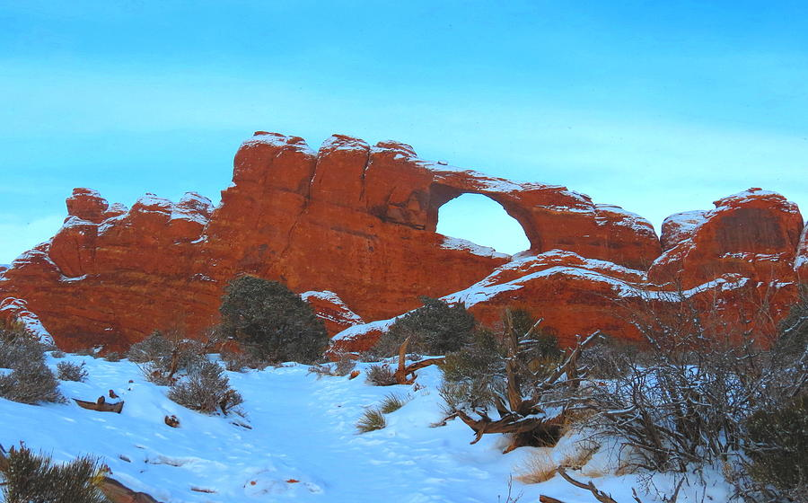 Winter Arch Photograph by Alex  Call