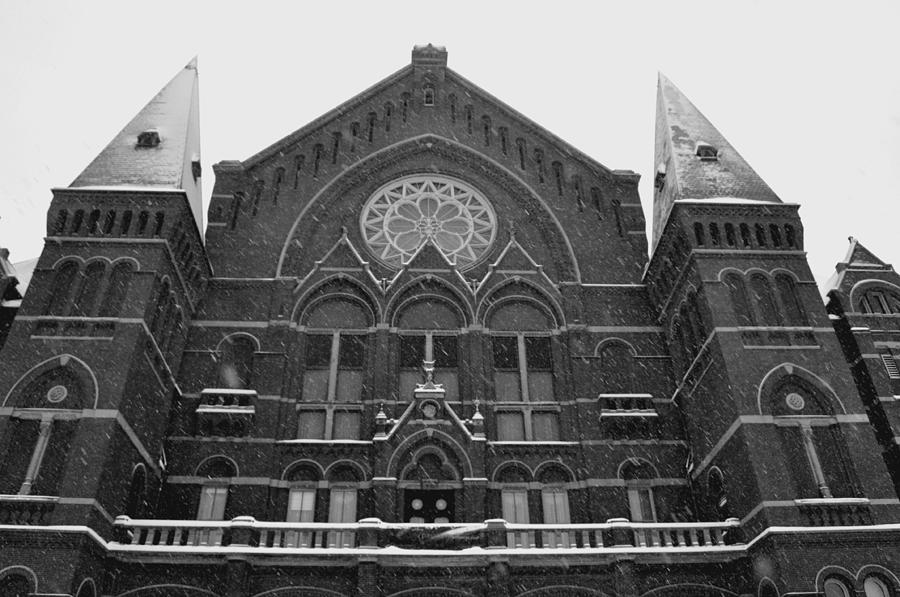 Winter at Music Hall by Russell Todd