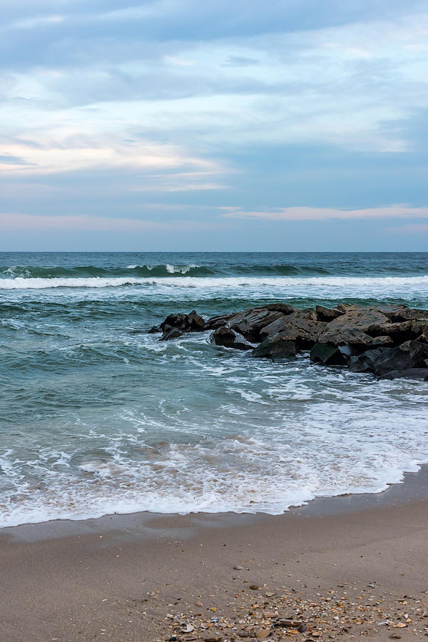 Winter Beach Lavallette New Jersey Photograph By Terry DeLuco