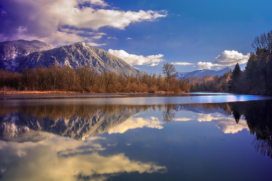 Snoqualmie Photograph - Winter Beckons by Manju Shekhar