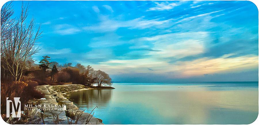 Winter Blues Photograph by Milan Kalkan
