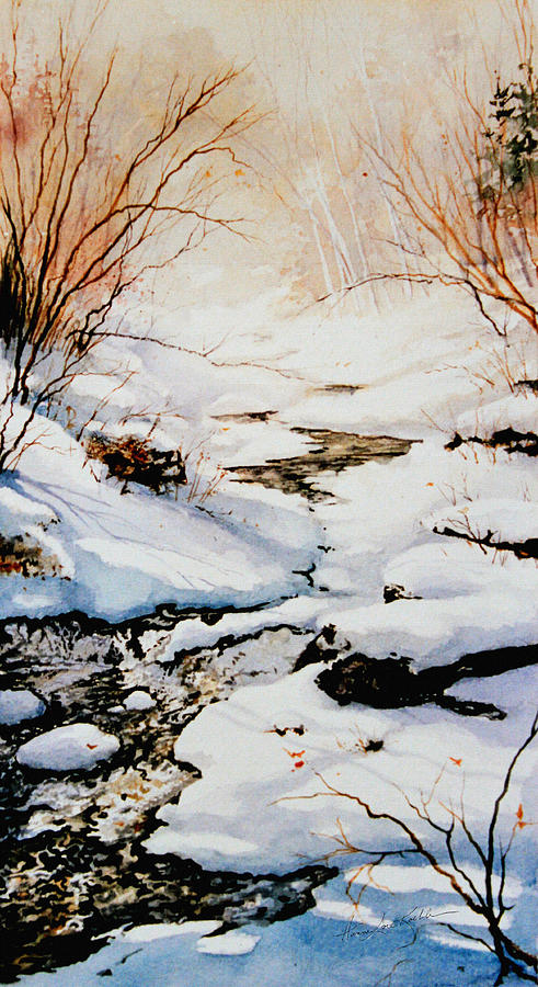 Winter Break Painting Painting - Winter Break by Hanne Lore Koehler