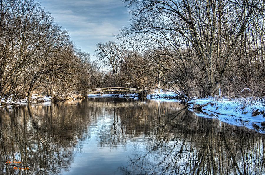 Creek Photograph - Winter Creek by Dan Crosby
