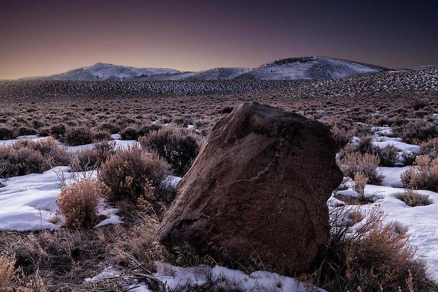 Winter Dawn In The High Desert Photograph by Stuart L Gordon Photography