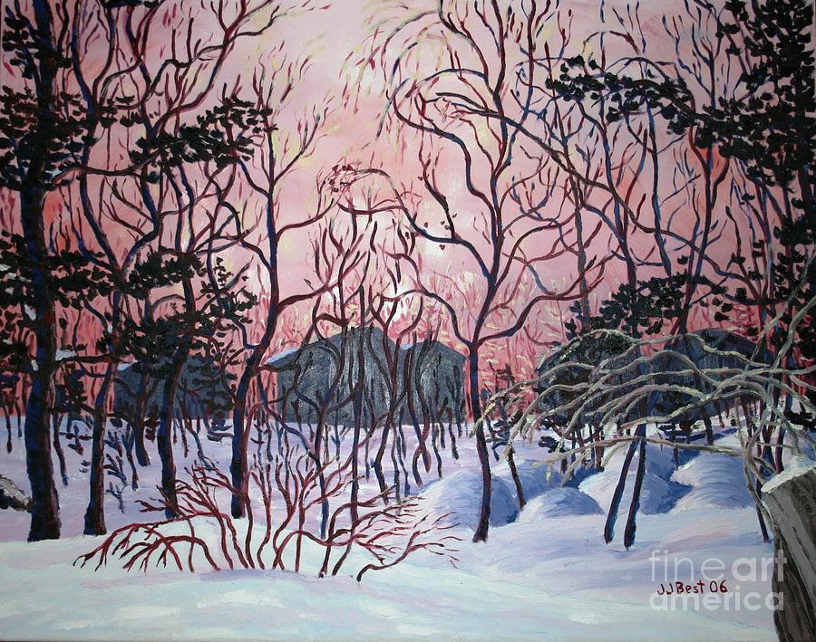 Winter dawn by Janice Best