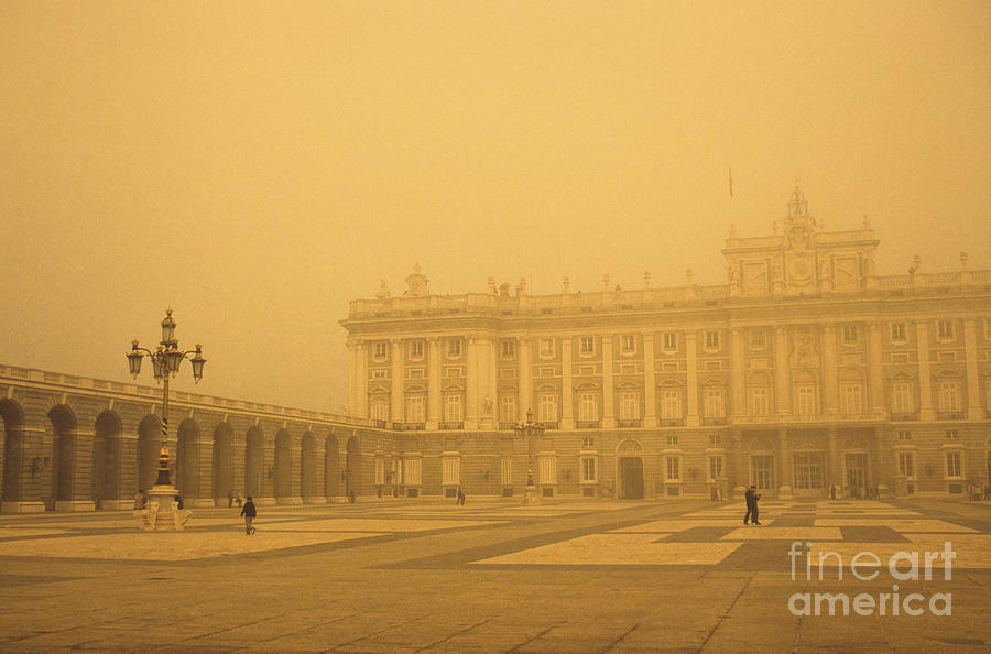 Madrid Photograph - Winter Fog In Madrid by James Brunker