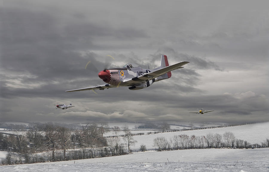 Aircraft Digital Art - Winter Freedom by Pat Speirs