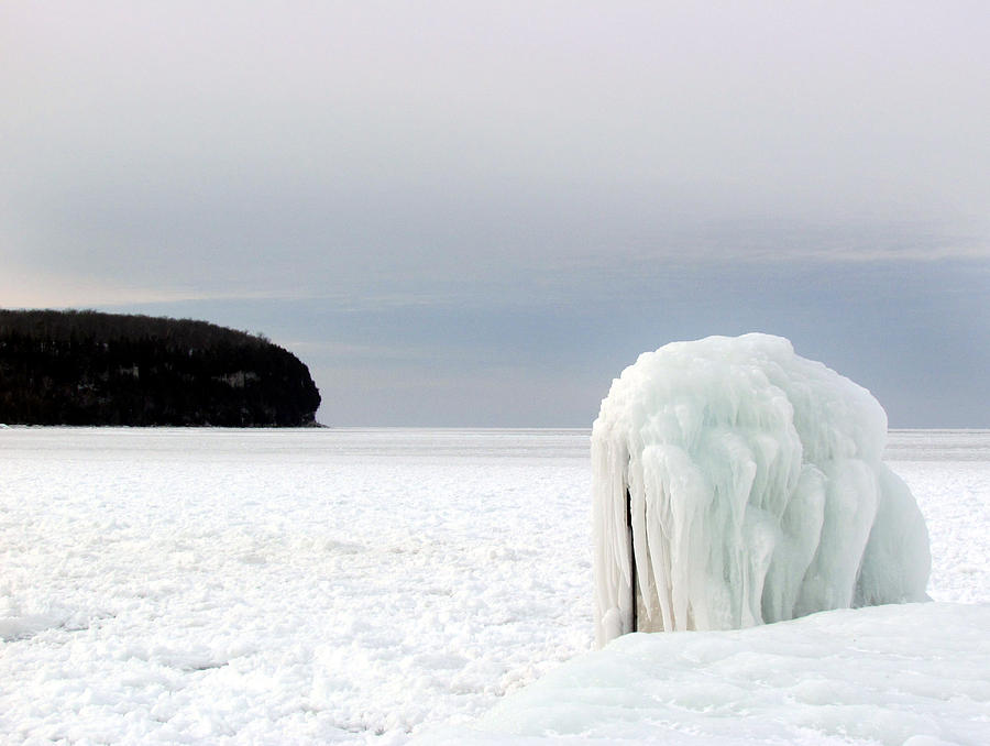 Winter Freeze At Ellison Bay Photograph