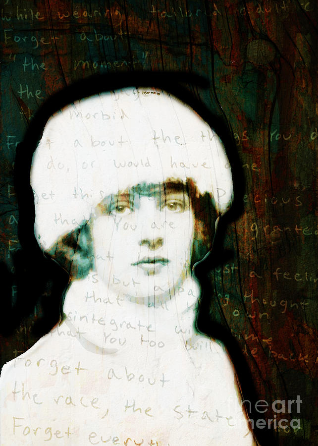 Girl Digital Art - Winter Girl by Judy Wood