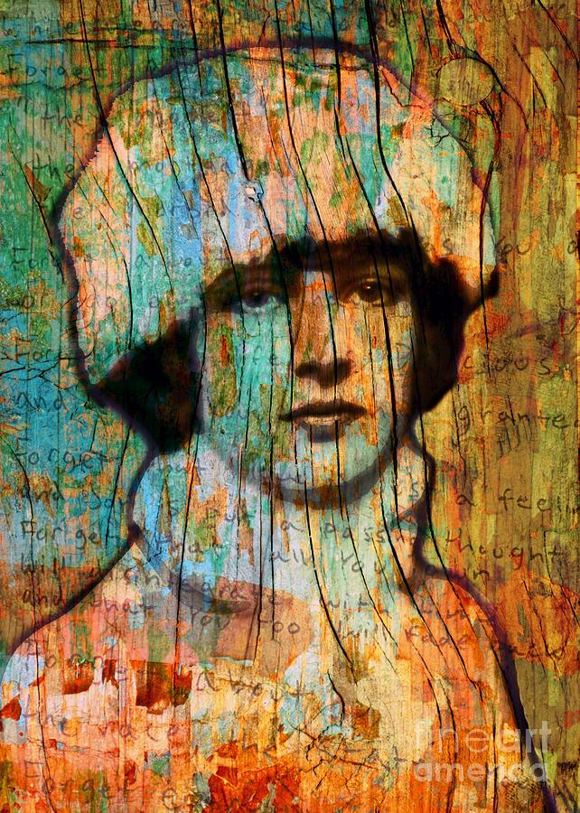 Girl Digital Art - Winter Girl Variation 1 by Judy Wood