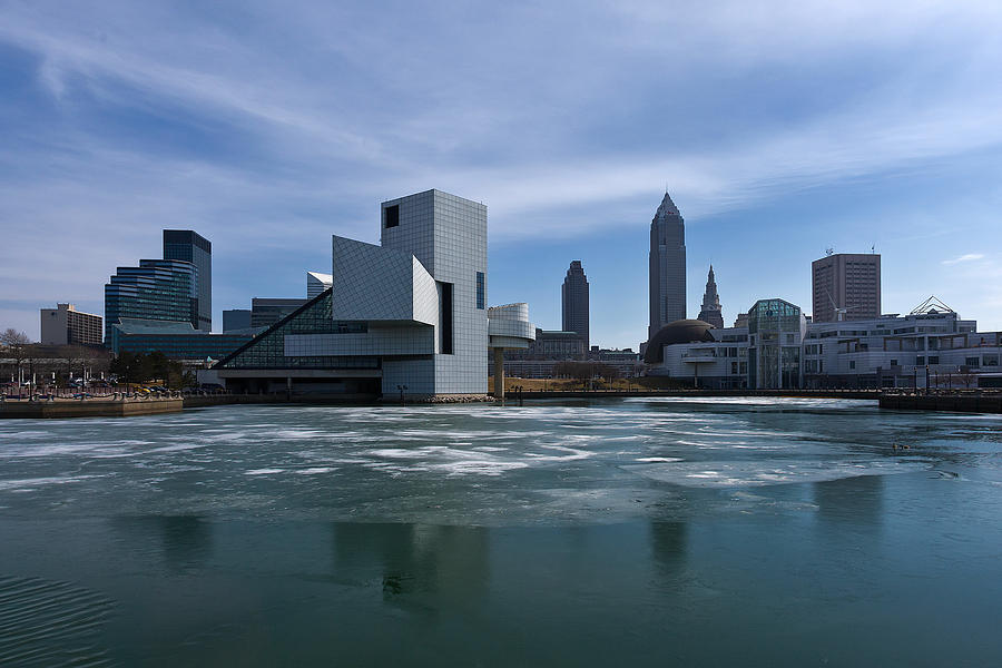 Cleveland Photograph - Winter In Cleveland by Dale Kincaid