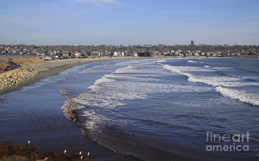 Rhode Island Photograph - Winter in Newport by Mike Mooney