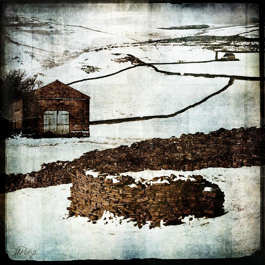 Landscape Digital Art - Winter Landscape 2 by Mark Preston