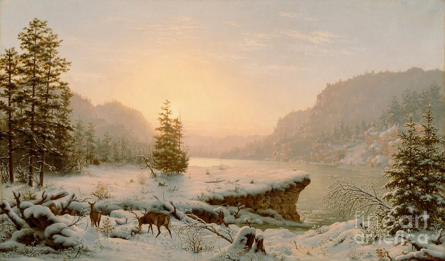 Winter Paintings By Famous Artists