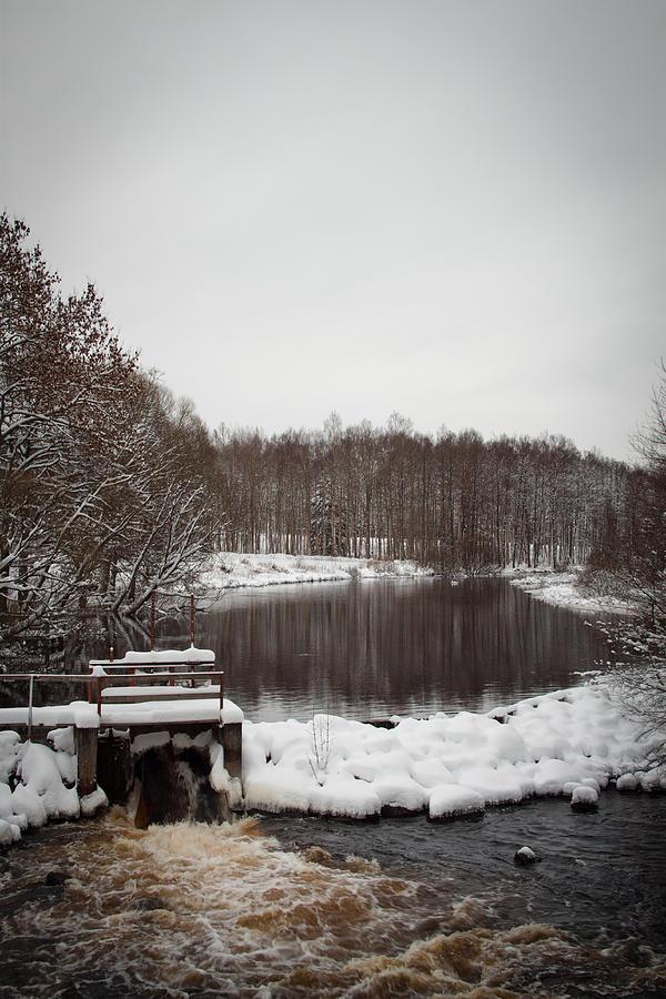 Winter Photograph - Winter Landscape by Robert Hellstrom