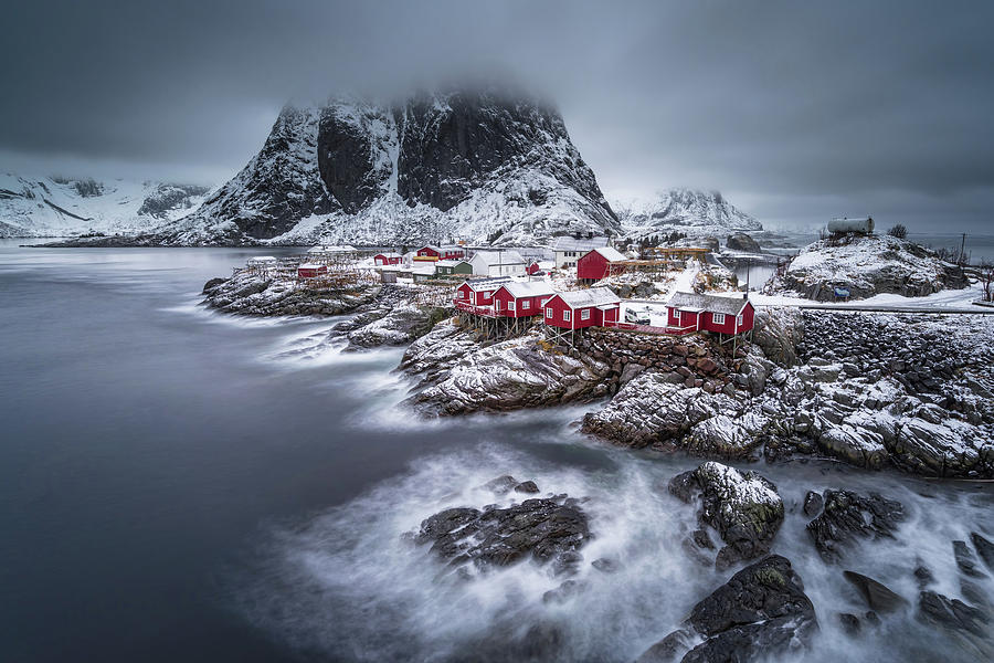 Winter Photograph - Winter Lofoten Islands by Andy Chan