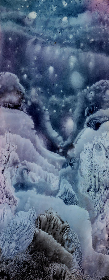 Night Painting - Winter Night by Igor Khalandovskiy