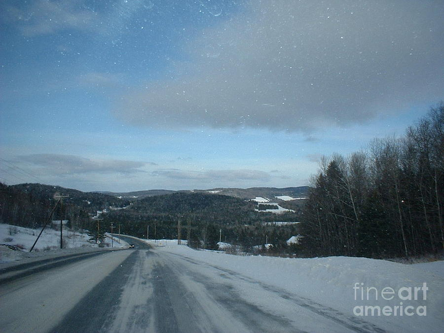 Maine Photograph - Winter Norhtern Maine by Kristine Bailey