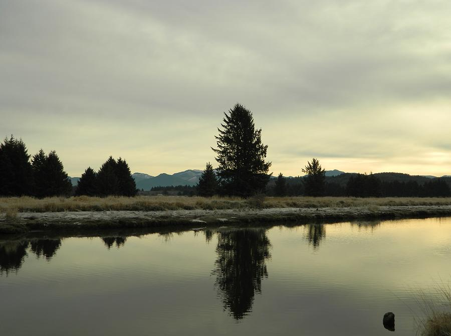 Nature Photograph - Winter River 6 by Gallery Of Hope