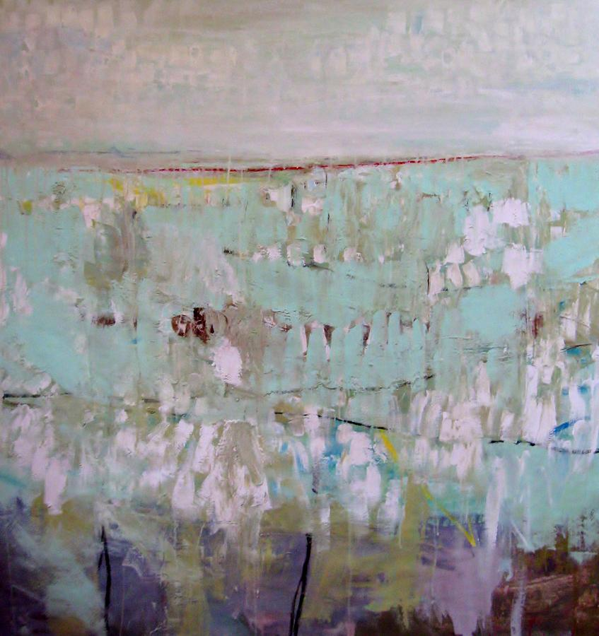 Landscape Painting - Winter Scene by Brooke Wandall