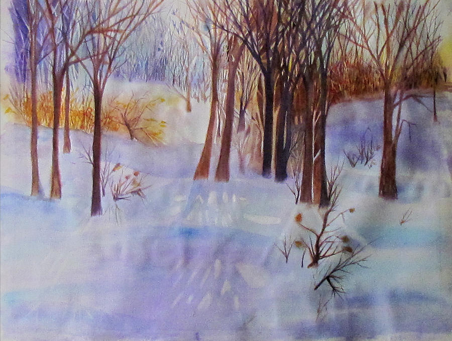 Winter Scene by Susan Duxter