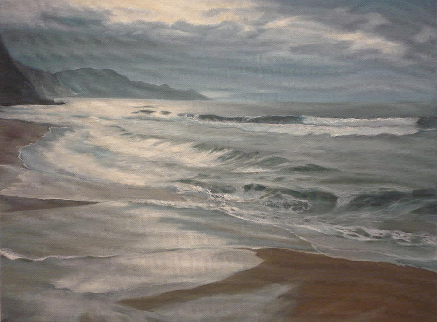 Winter Sea  by Caroline Philp