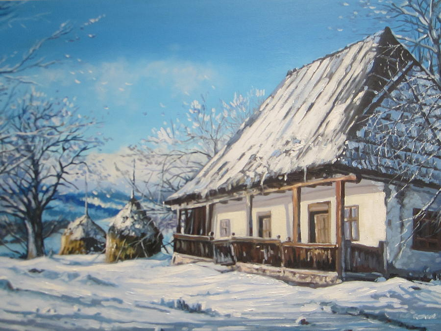 Winter Painting - Winter Shine by Andrei Attila Mezei