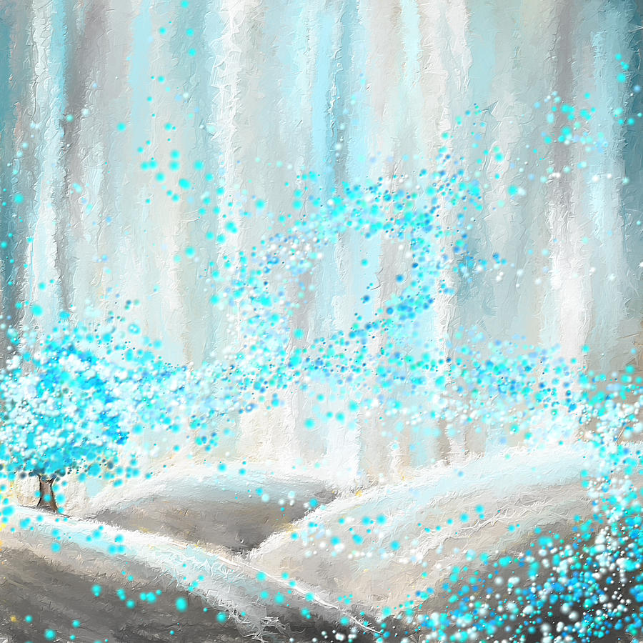Winter Showers Painting