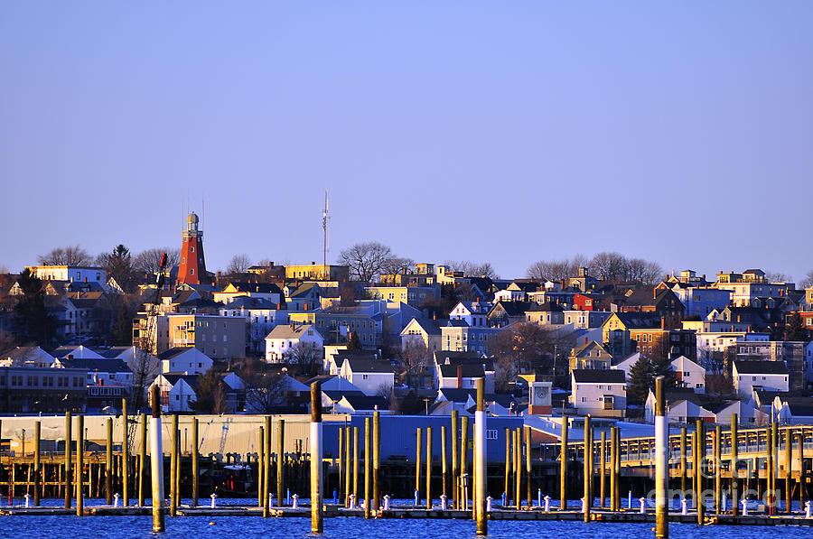 Winter Skyline Photograph