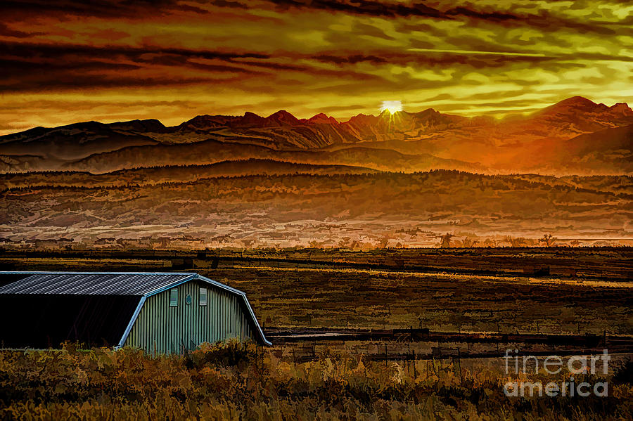 Solstice Photograph - Winter Solstice by Jon Burch Photography