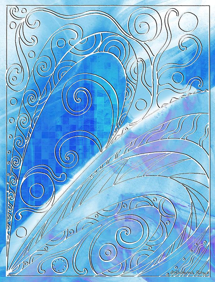 Winter Digital Art - Winter Solstice  by Shawna Rowe