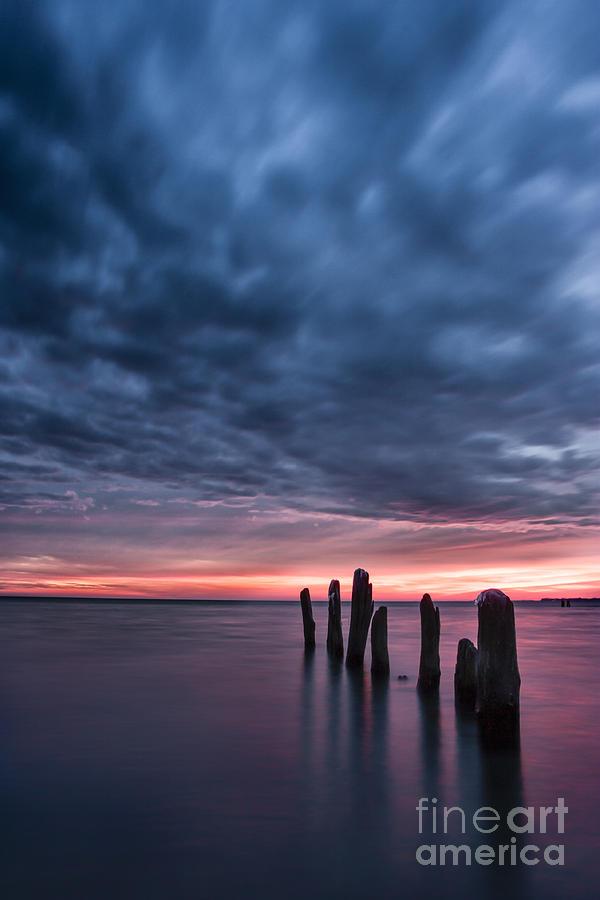 50 Point Photograph - Winter Sunrise by Matt  Trimble