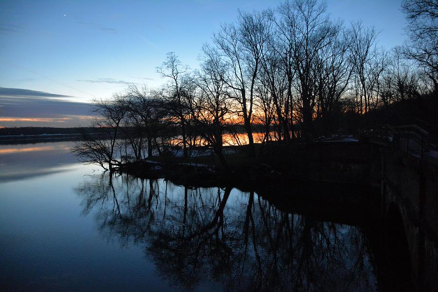 Potomac Photograph - Winter Sunset On Potomac River by Bill Helman