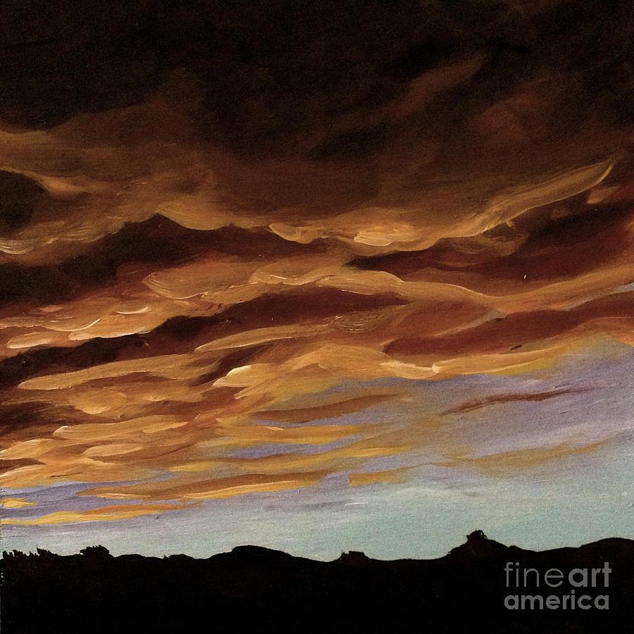 winter sunset by Ric Nagualero